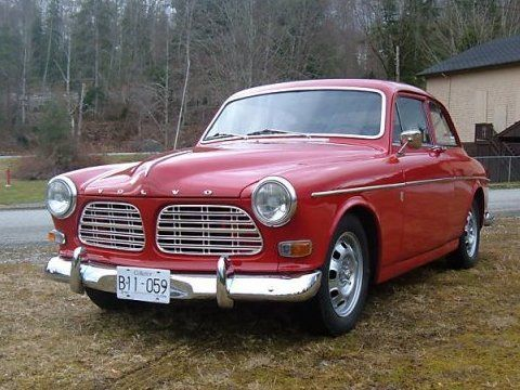 1967 Volvo 123 GT For Sale Front | Volvo 123 GT Amazon rallye- car