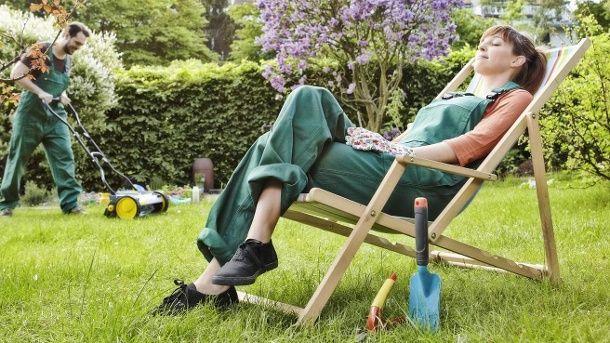 Pflegeleichter Garten einen Garten für Faule anlegen - pflegeleichter garten anlegen