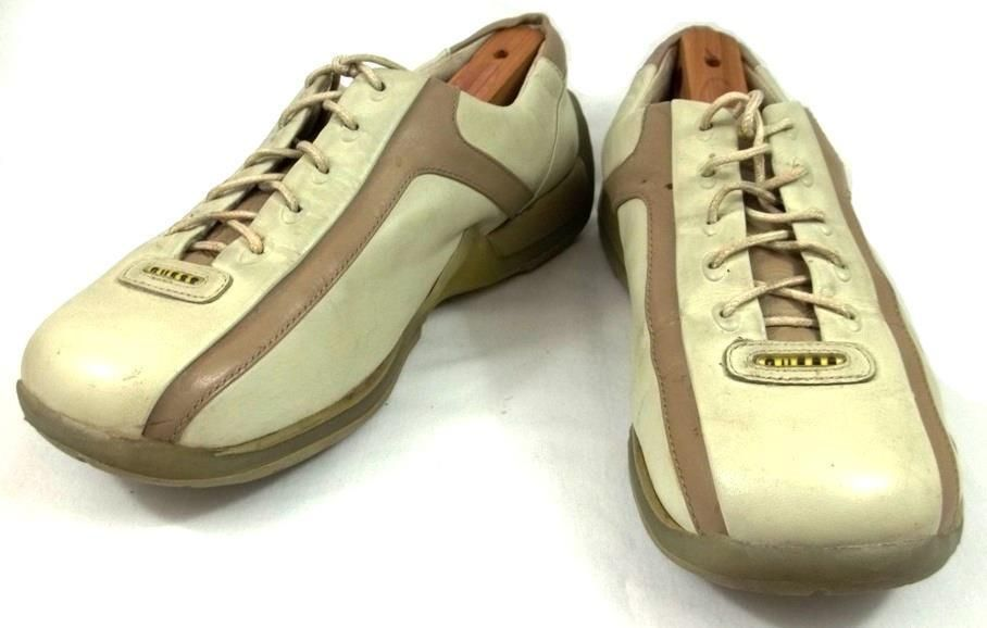 Guess Walking Sneakers Womens Size 8.5 M Beige Leather