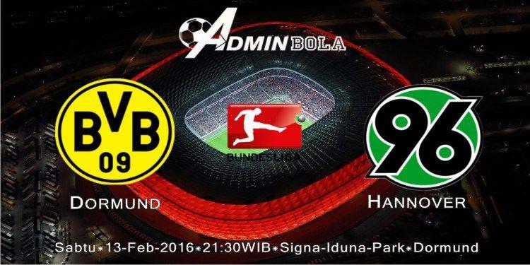 Prediksi Dormund vs Hannover 13 Februari 2016