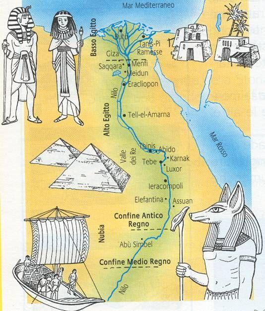 Cartina Dell Antico Egitto Da Colorare.Egitto E Fiume Nilo Cerca Con Google Egitto Storia E Istruzione