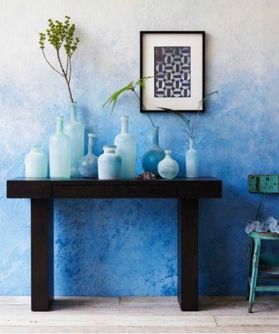 10 ombre wall designs that will inspire you paint techniques walls rh pinterest com au