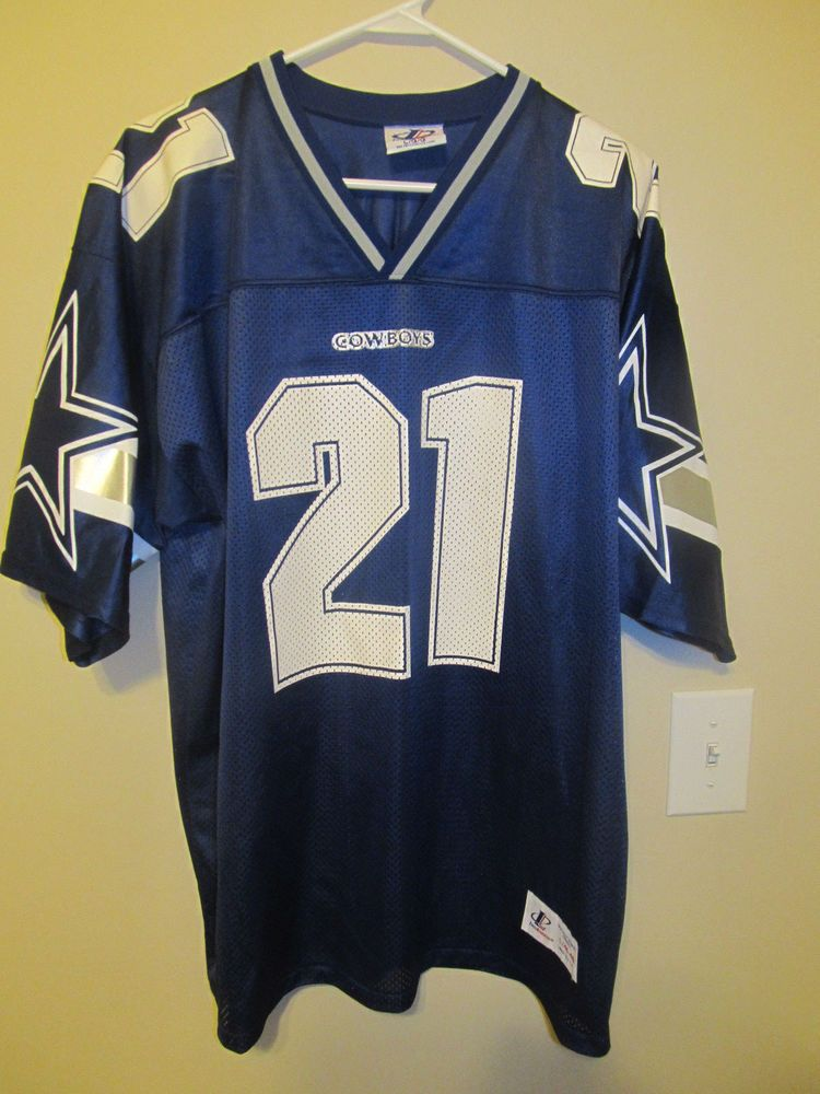 best sneakers 06d20 9ca42 Deion Sanders - Dallas Cowboys Jersey - Logo Athletic Adult ...