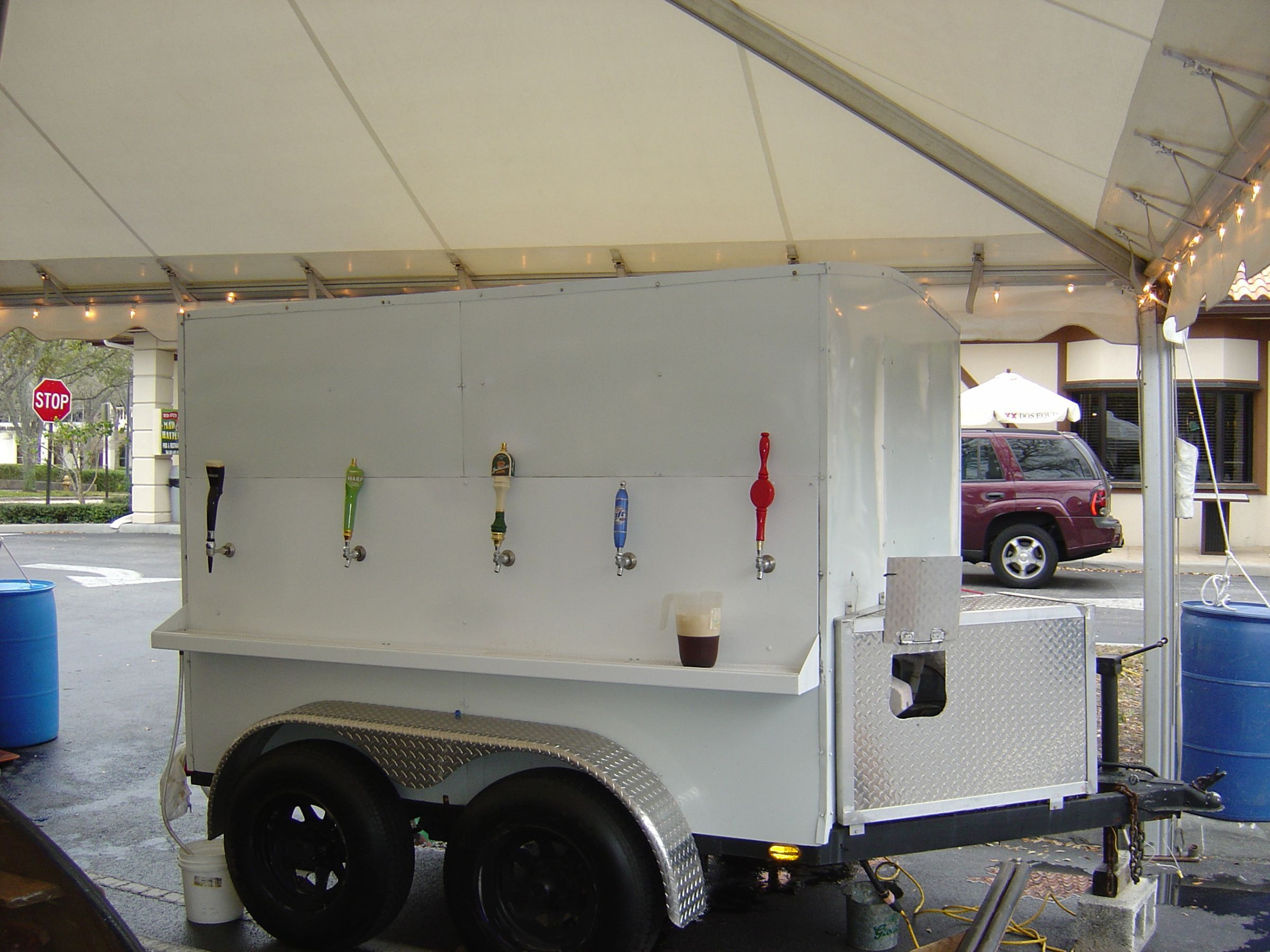 Party Wagon Beer Trailer This Would Be So So So Amazing