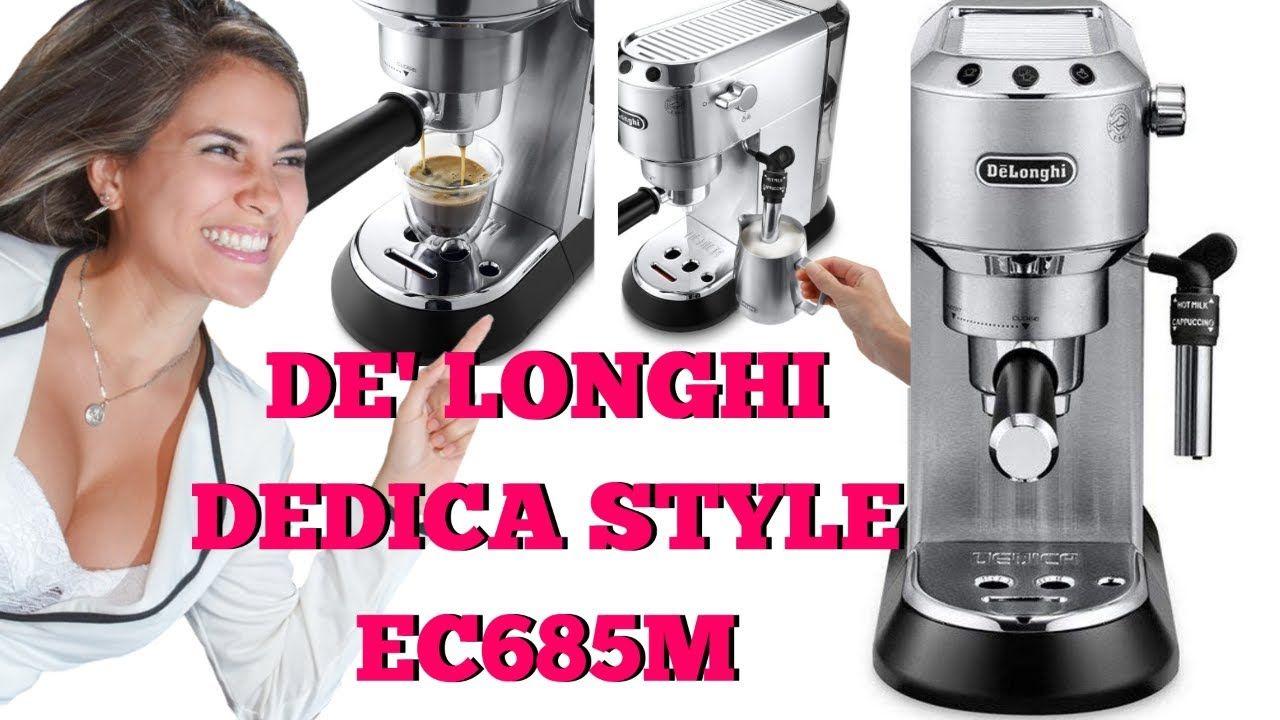 DeLonghi Dedica Style EC685M Best Manual Espresso Machine