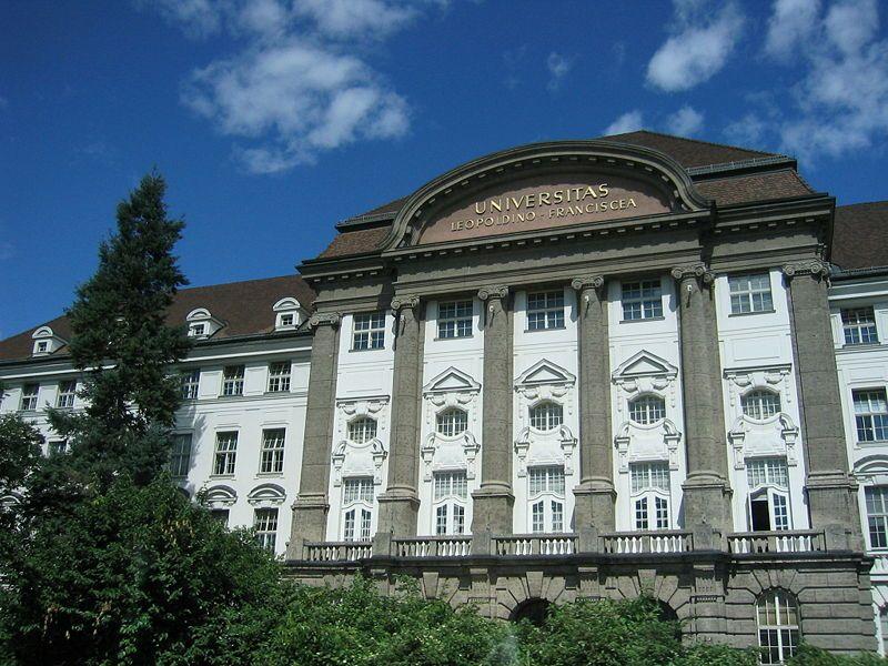 University Of Innsbruck Leopold Franzens Universitat Innsbruck