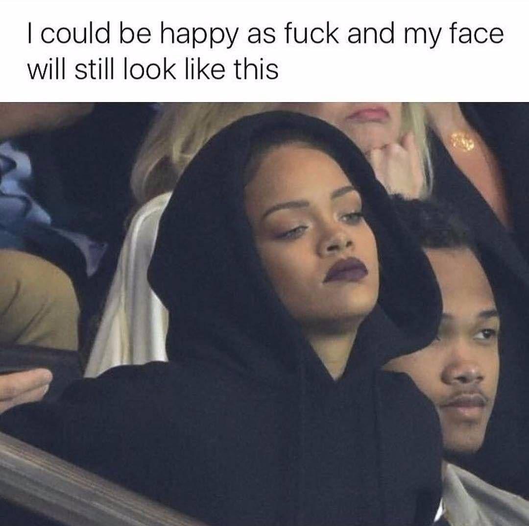 Rihanna look a like face fuck