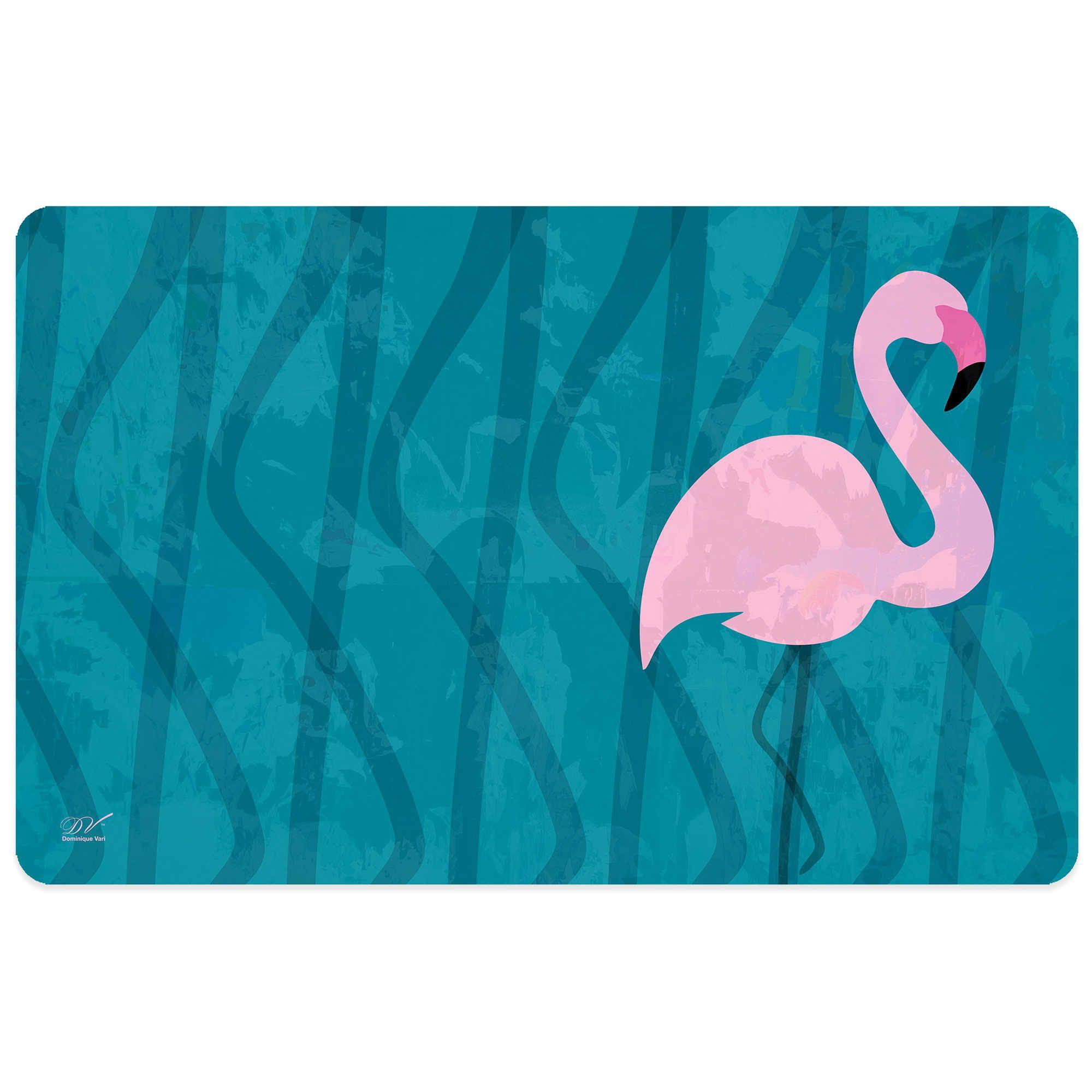 Bungalow Flooring Flamingo Kitchen Mat | flamingo bathroom ...