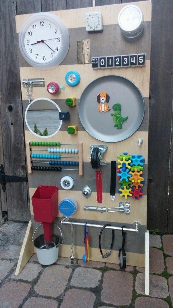 Coole Kinderspielzeuge selber machen – Schüttelflaschen, Activity Boards und einfache Stofftiere – Fresh Ideen für das Interieur, Dekoration und Landschaft