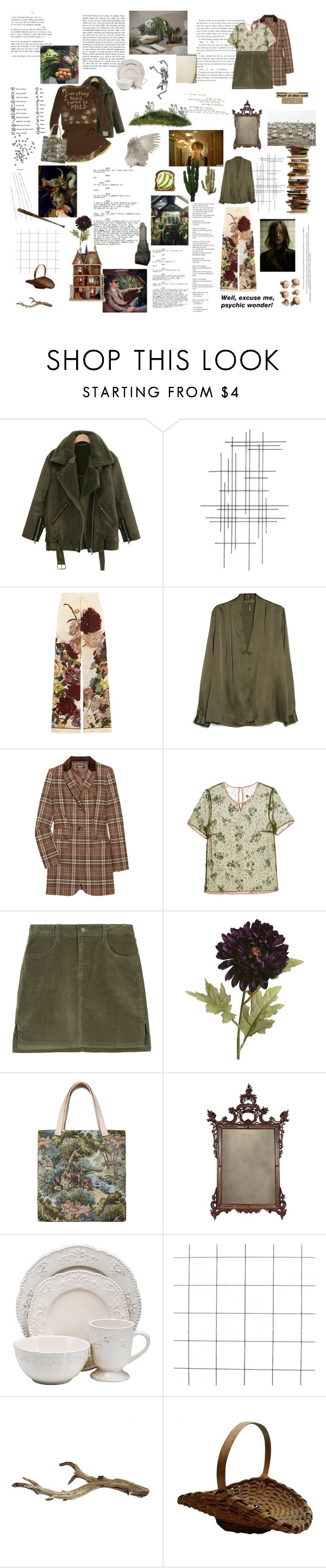 """""""Me myself and I"""" by the-clary-project ❤ liked on Polyvore featuring Crate and Barrel, Valentino, MANGO, DKNY, Mary Katrantzou, Pier 1 Imports, Clips, Bless and Better Homes and Gardens"""