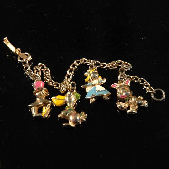 Vintage Child's Charm Bracelet.