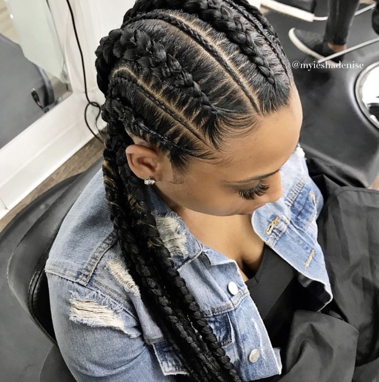 11+ Quick braided hairstyles with weave trends