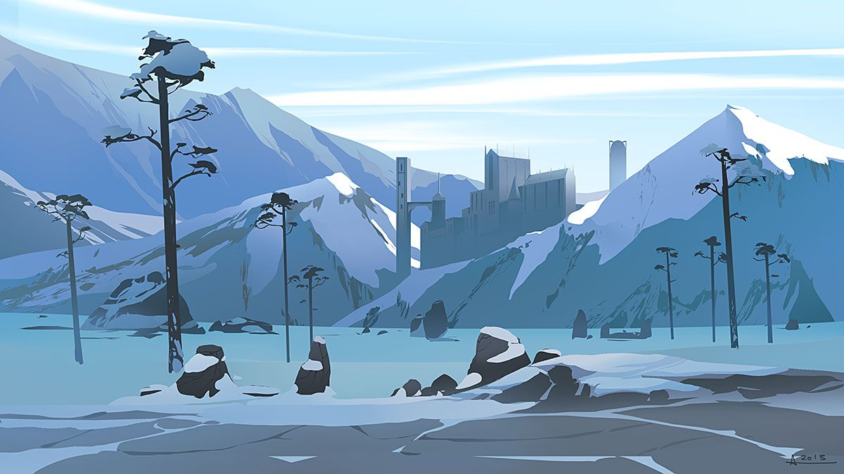 Simple Snow Background Tumblr By Anirdeviantartcom On Deviantart Intended Design Decorating