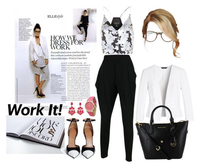 """""""Work Wear #1"""" by vale14m ❤ liked on Polyvore featuring Topshop, White House Black Market, Givenchy, Kate Spade, Amrita Singh, Olivia Pratt and workwearclassified"""