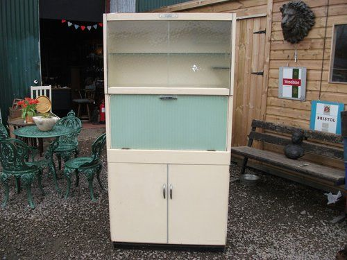 Antique Vintage 1950s Kitchen Cupboard By Eastham