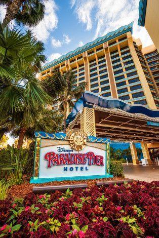 paradise pier hotel review travel hotels near disneyland rh pinterest com
