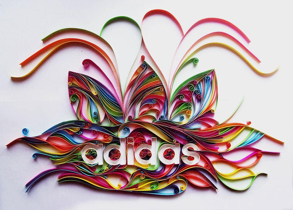 #adidas #tactile #logo