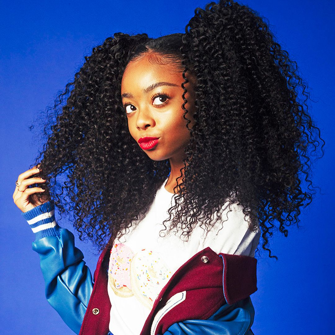 125k Likes 1 515 Comments Skai Skaijackson On Instagram Ladygunn Link In Bio Skai Jackson Natural Hair Styles Ski Jackson