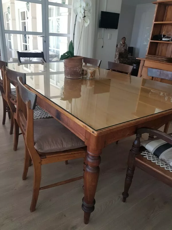 Cape Regency Yellow Wood Stink Wood Dining Room Set Sandton Gumtree Classifieds South Africa Wood Dining Room Set Wood Dining Room Table Dining Room Sets