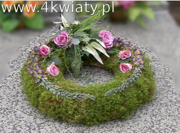 Wianek Na Grob Floral Wreath Floral Flowers