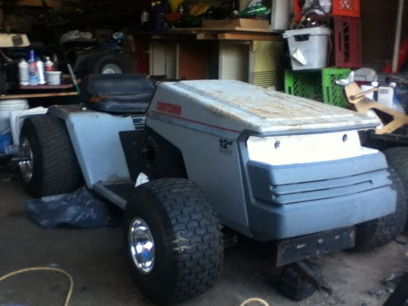 Project Yoder Redzz02 S Racer With Images Lawn Mower Racing