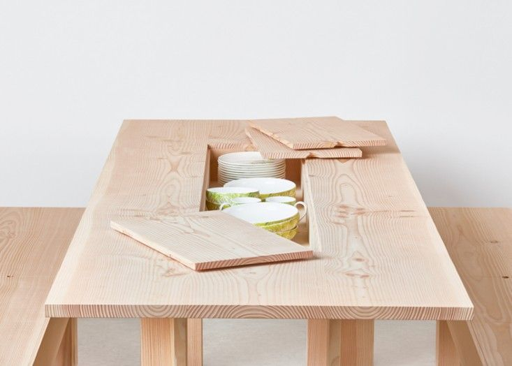 Planks Furniture by Max Lamb | Remodelista