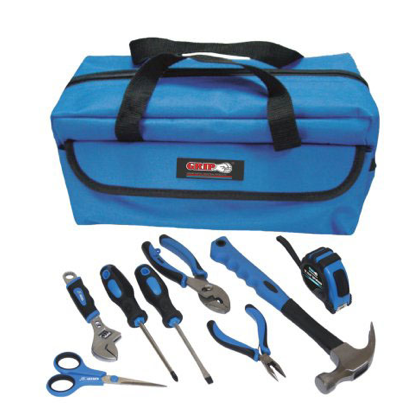 kids tool sets - grip on 9-piece tool kit real quality tools with ...