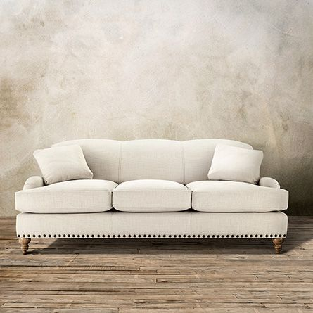 lounge your days away in the outerbanks sofa with its extra deep rh pinterest com