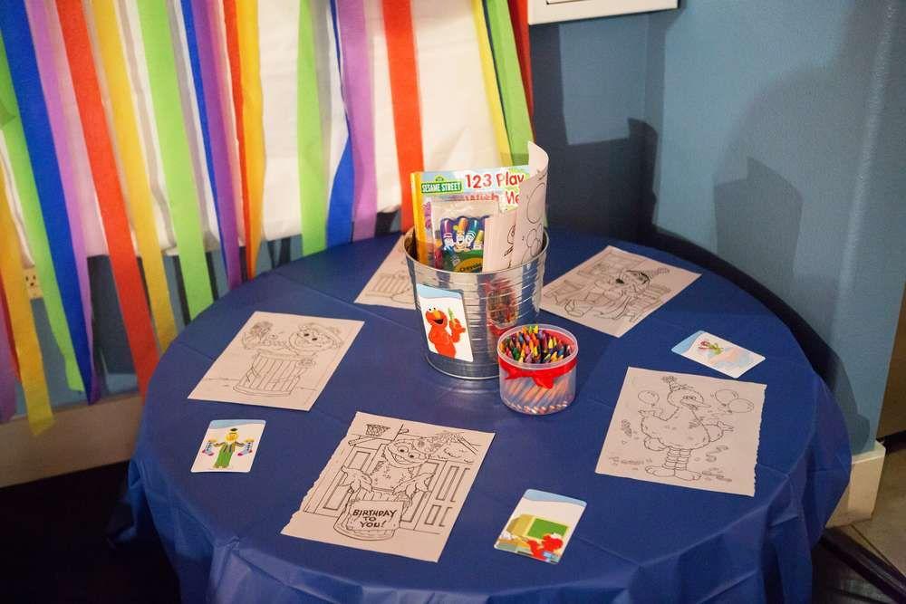 Sesame Street Birthday Party Ideas Photo