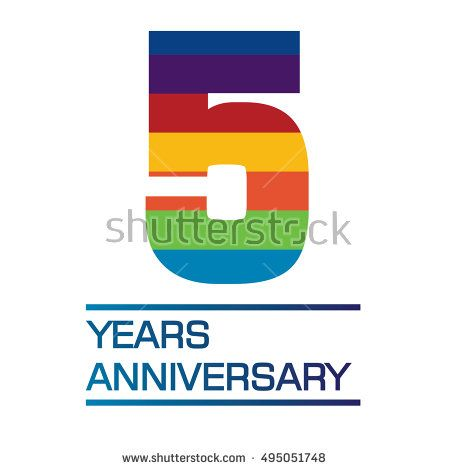 what is the color for 5 year anniversary