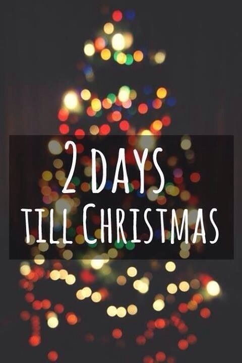 2 Days Till Christmas quotes quote christmas christmas quotes christmas countdown | TAMI KRAMER ...