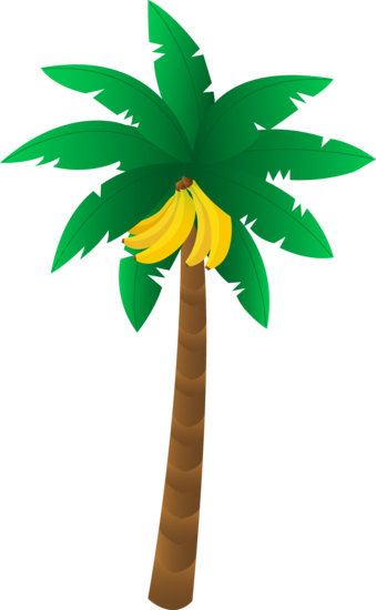 Cartoon Banana Tree Pictures