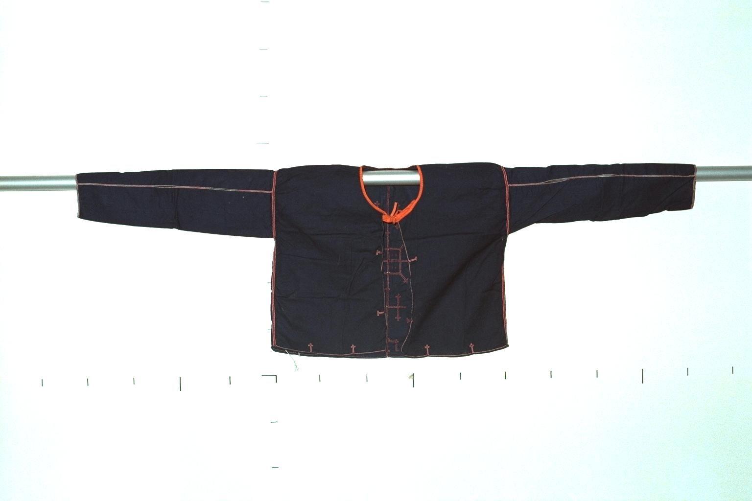 Hanunoo-Mangyan men's shirt /National Museum of Ethnology