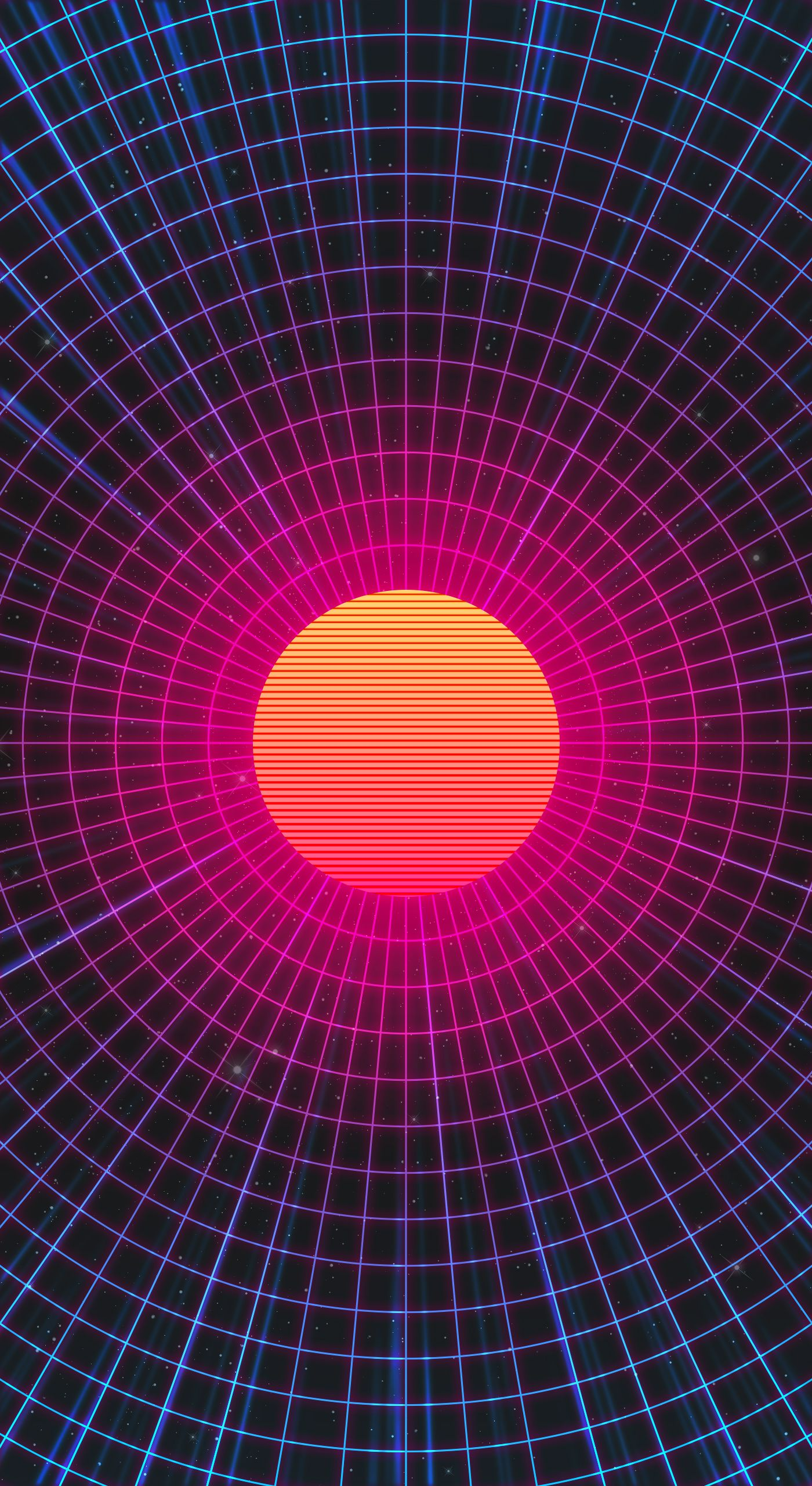 synthwave mobile wallpaper Google Search Papel de