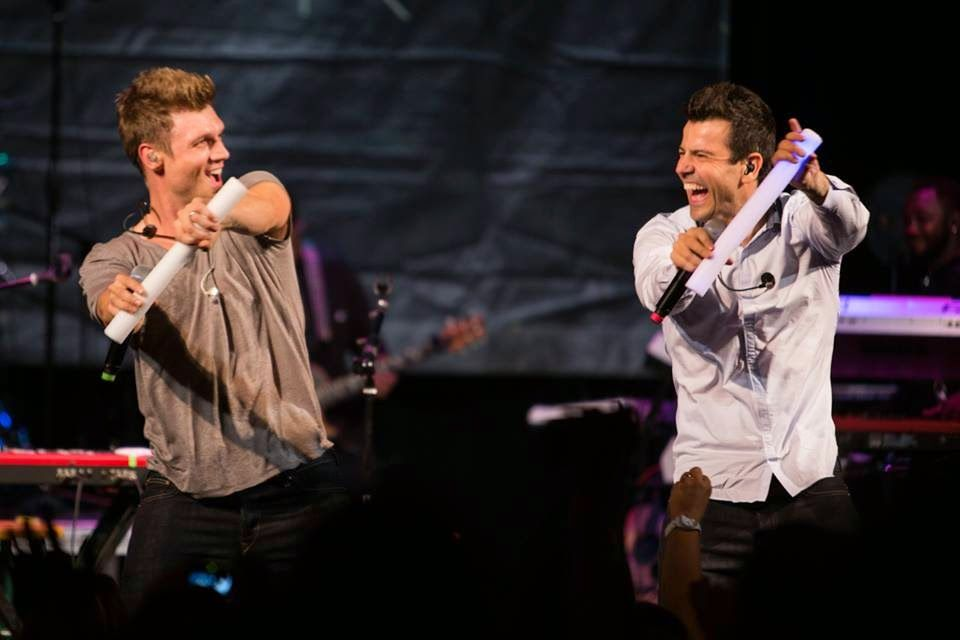 Radio-bsb: Videos & Fotos: Show Nick & Knight - Kansas City