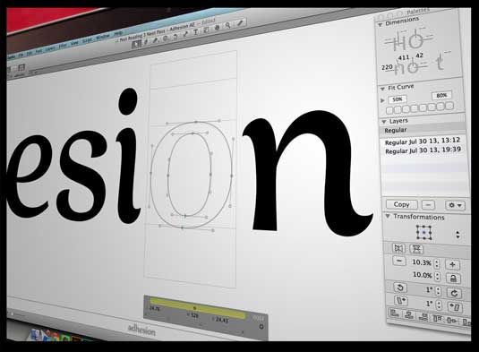 how to make your own font in photoshop