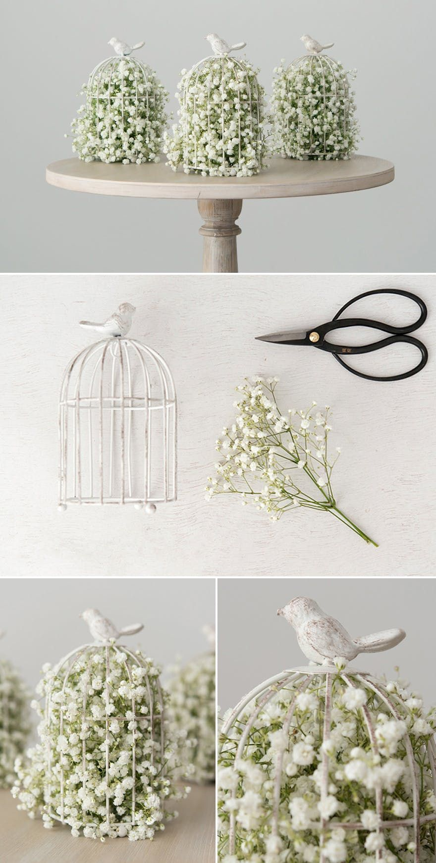 You'll Be Spoilt For Choice with These 50 Stunning DIY Centrepieces! #weddinggift