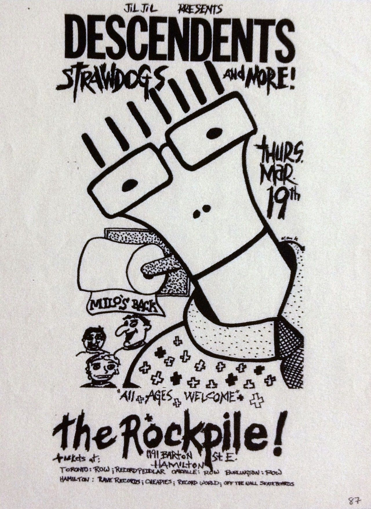 Old punk flyer | Punk flyers/posters | Pinterest | Musik