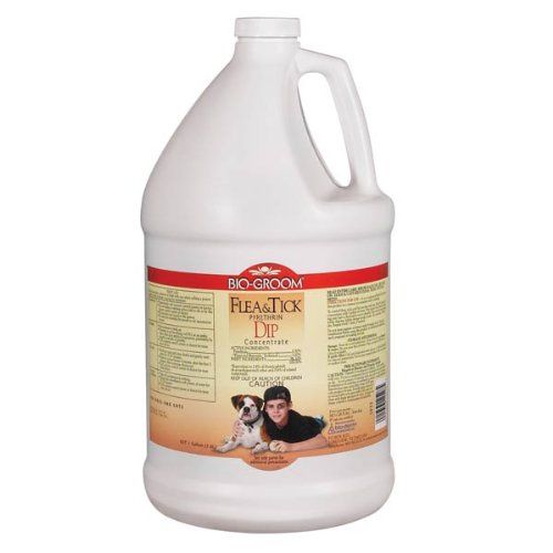BioGroom Flea and Tick Pyrethrin Dip Dog/Cat Concentrate