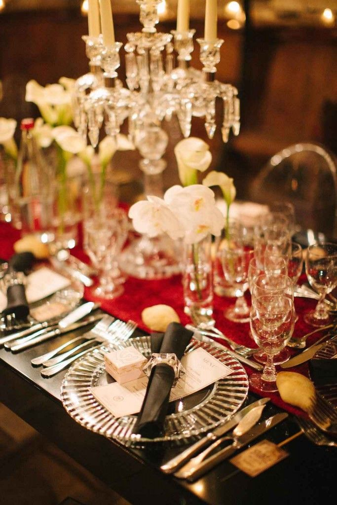 classy wedding table chic mariage mariage chic