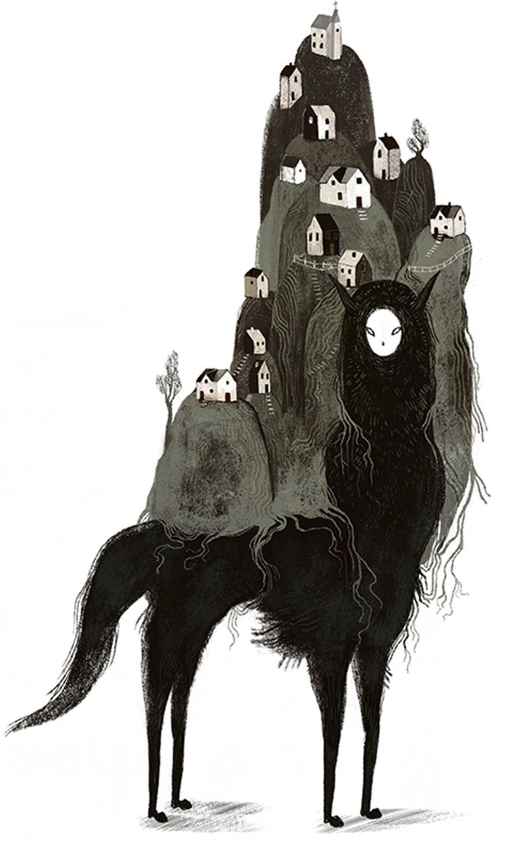 Illustration surréaliste fusionner une technique magnifique avec ce qui vit dans notre tête