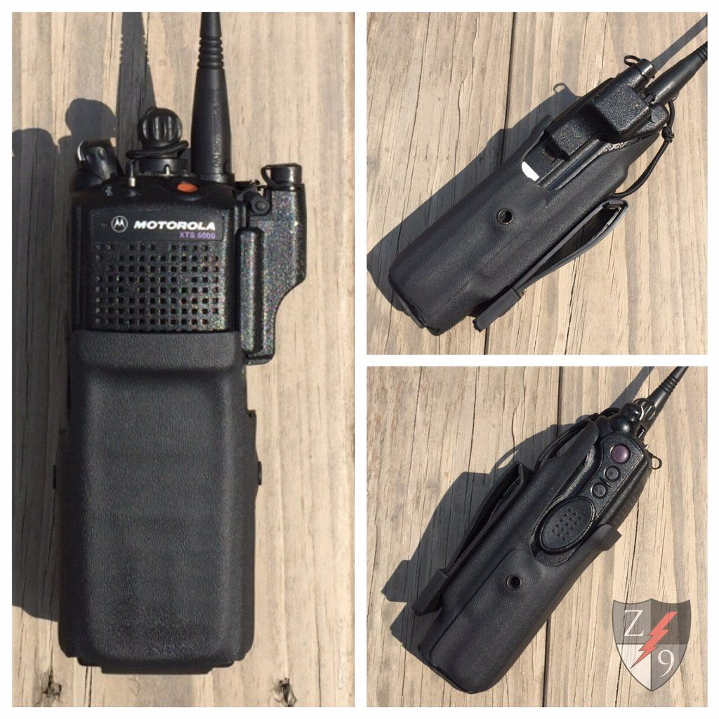 Portable Radio Case - HARRIS   Zero9 Holsters Custom Duty