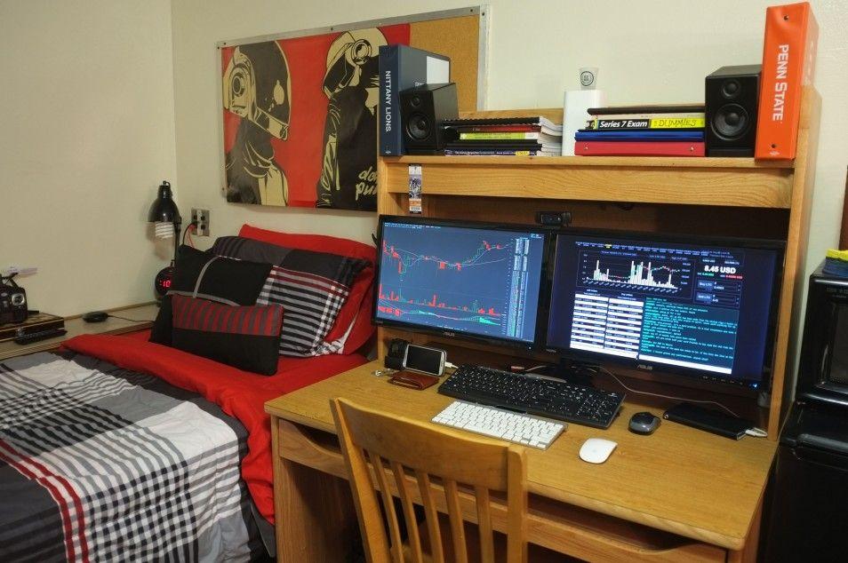Modern Ligting In Cool Gaming Rooms Interior