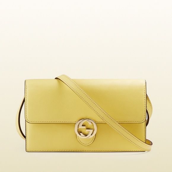 Brand New Gucci Wallet with Strap It is a brand new in a sunny bright yellow color. So chic in the summer. It will come with the authenticity cards, dust bag, and original bag. It is an incredible item! I think the best is to take it in the bright sun in Malibu and the amazing blue green beach with black rocks. I love it because it is something that is so versatile. So it can all be used with everything! Walking your dog in Beverly Hills with this item can be so cool. It can be taken…