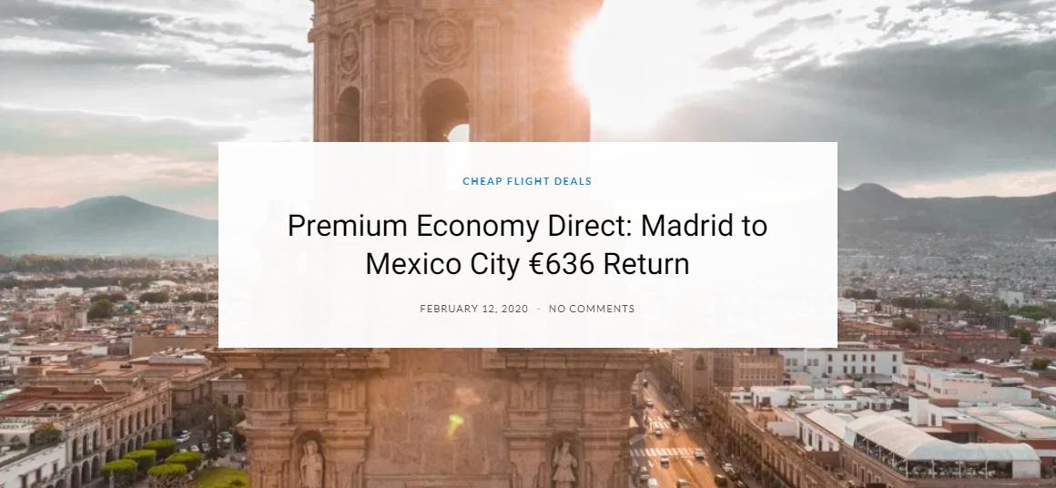 #TravelDeals #CheapFlights #PremiumEconomy