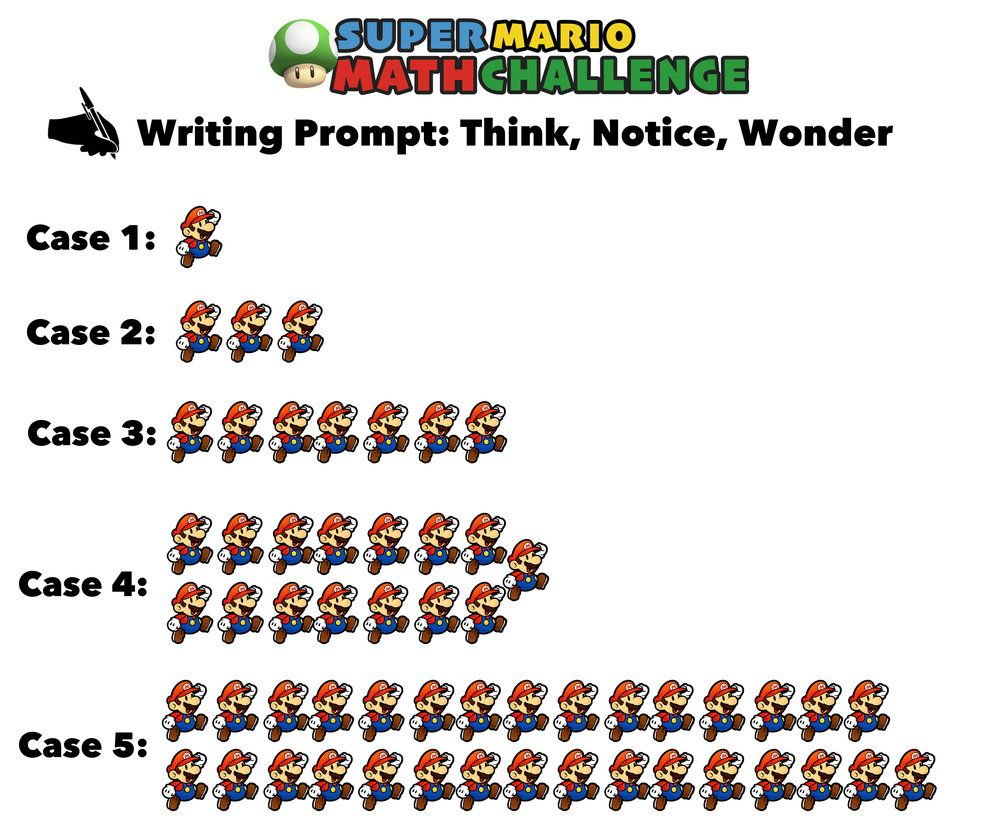 Have You Seen These Free Super Mario Math Puzzles Mashup Math Maths Puzzles Math Math Writing Prompts [ 833 x 1000 Pixel ]