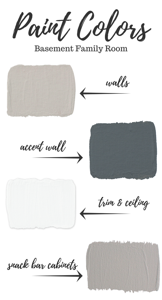 it s time to pick basement paint colors now that the renovation rh pinterest com