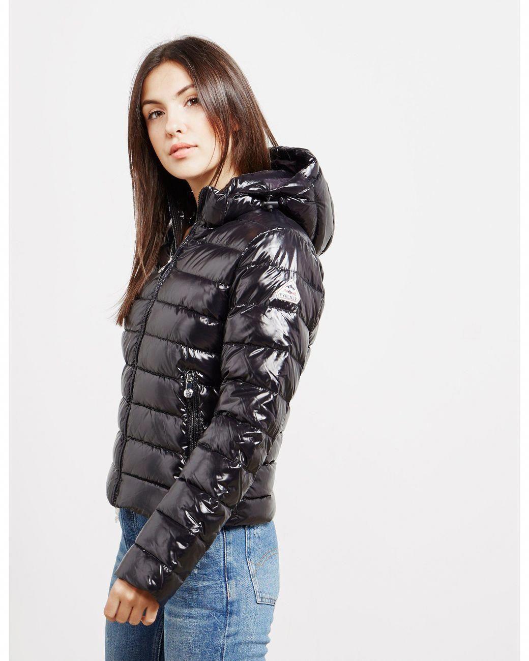 Pyrenex Womens Spoutnic Shiny Jacket Black Lyst