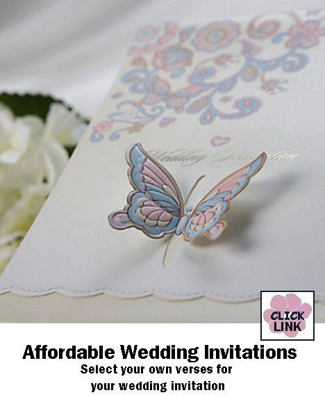 17 Best images about wedding invitations – Wedding Butterfly Invitations