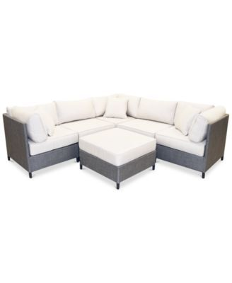 new south beach outdoor 6 pc modular seating set 3 corner units rh pinterest co uk